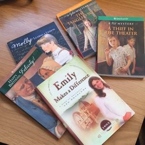 American Girl Books Molly Julie Kit Emily Felicity